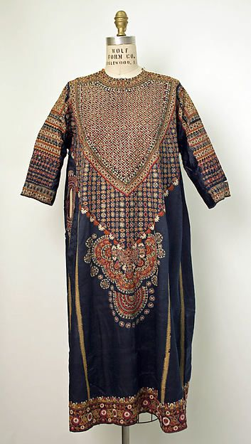 Dress Department Store: Liberty & Co. (British, founded London, 1875) Date: late 18th–early 19th century Culture: Indian