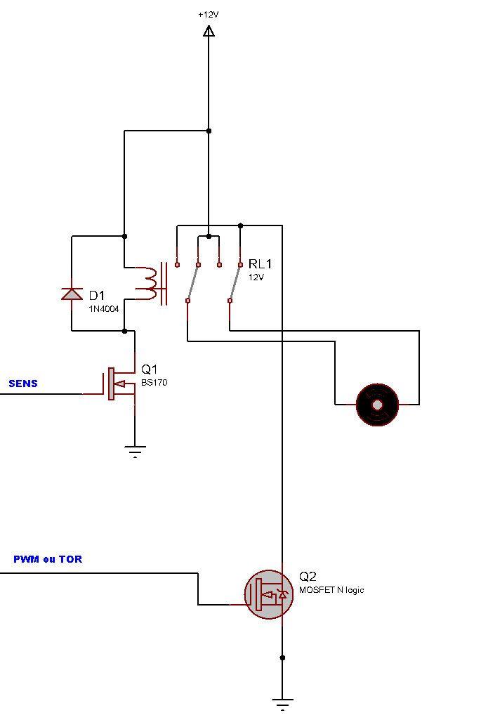 Commande moteur DC - Arduino Forum