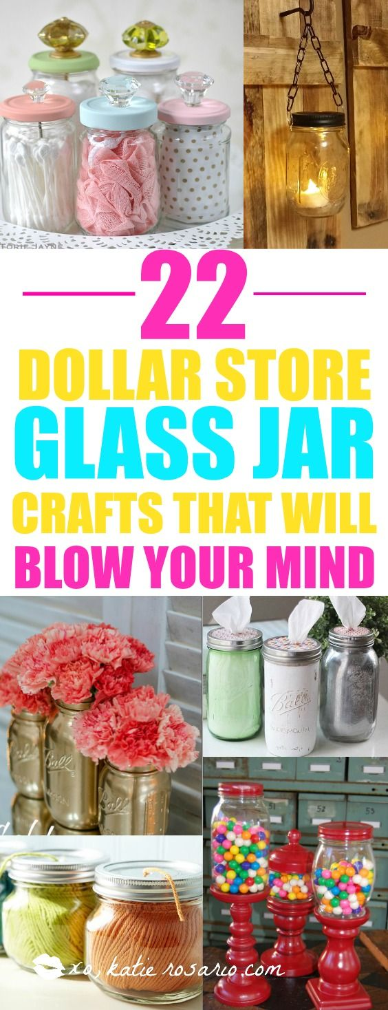 """I am all for DIY projects! I love what she did to reinvent old mason jars into new useful crafts. SO many clever ways to """"upcycle"""" glass jars! I am so pinning this for later!"""