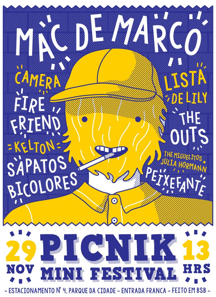 https://www.behance.net/gallery/31523019/Mac-Demarco-Picnik-Mini-Festival