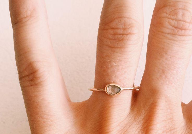 Black Betty Polka Diamond ring - beaulla!