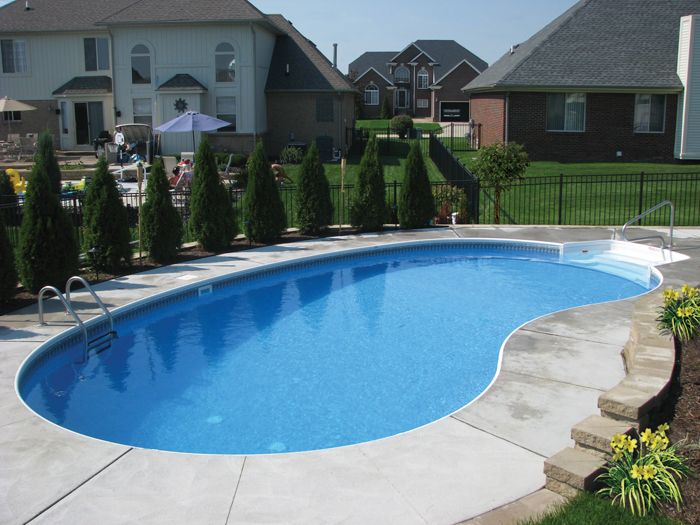 17 best ideas about kidney shaped pool on pinterest for Quality pool design