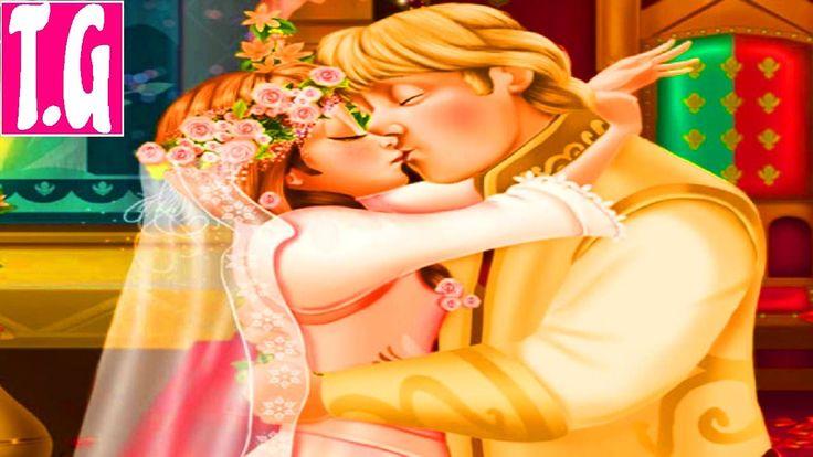 Anna Wedding Kiss— GAMES FOR KIDS.  HD 1080p