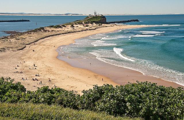 Newcastle beach, NSW