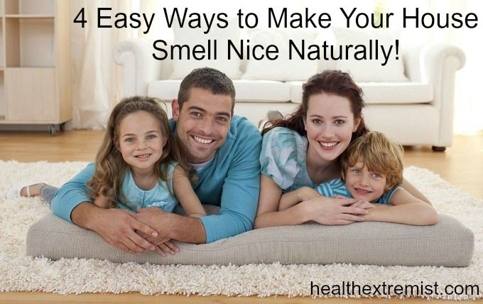 How to Make Your House Smell Good Naturally #cleaning #housesmellgood #natural