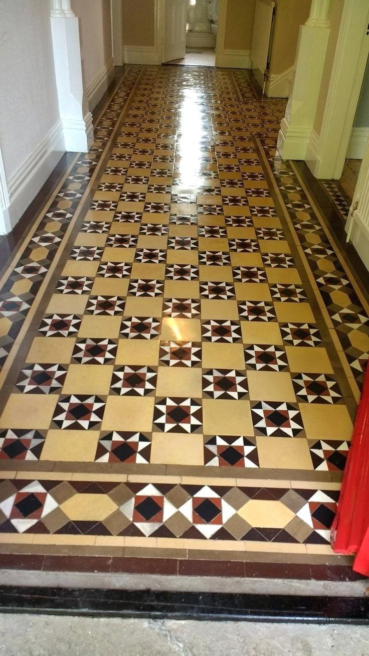 Victorian Floor Tiles Tile Effect Vinyl Reproduction Black And White Bathroom