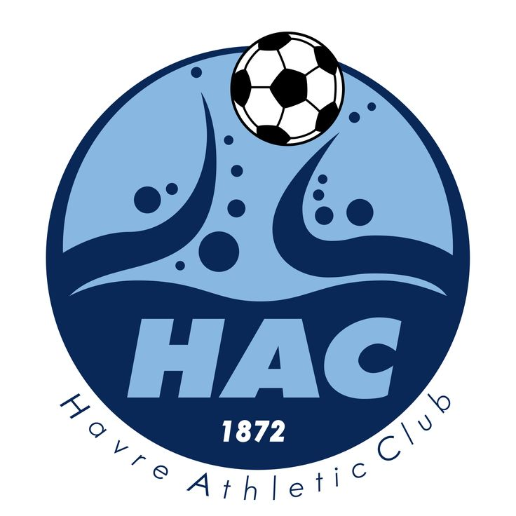 Le Havre AC, Le Havre, Normandy, France (old badge)