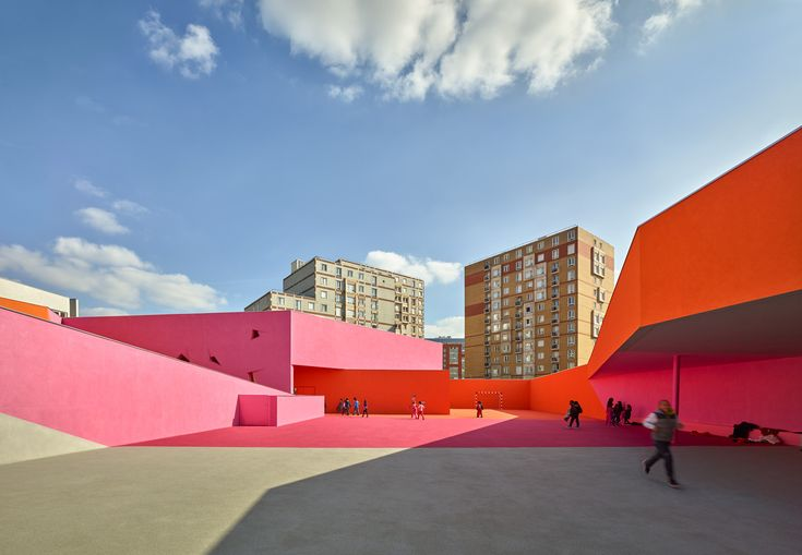 Gallery of 'Simone Veil' Group of Schools in Colombes / Dominique Coulon & associés - 1