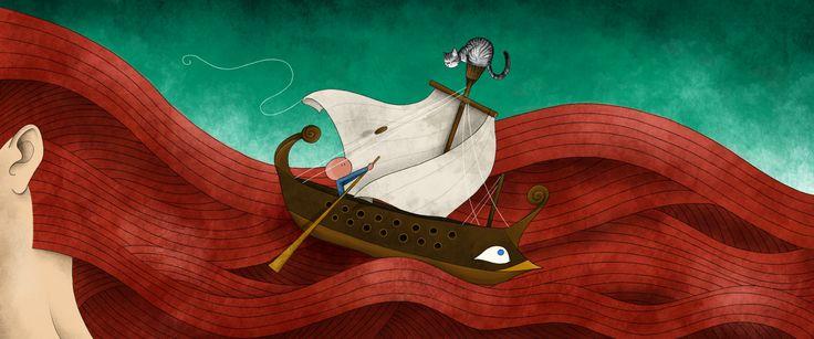 Mauro Falcioni ~ The Paper-Cat Illustrations ||  Il meglio deve ancora venire ~ «Narrami, o Musa, dell'eroe multiforme...»