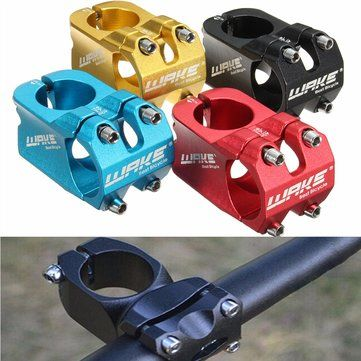 Only US$6.99, buy best WAKE Cycling Bicycle Aluminium Alloy Road MTB Mountain Bike Handlebar Stem 31.8mm sale online store at wholesale price.US/EU warehouse.