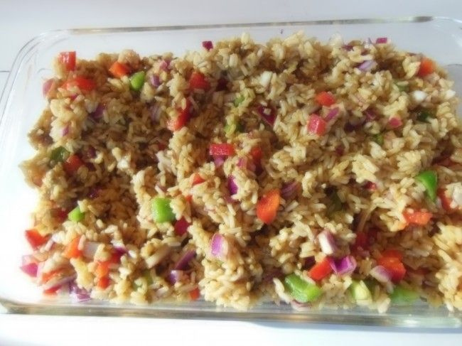 Rice Salad {Traditional African Recipe}