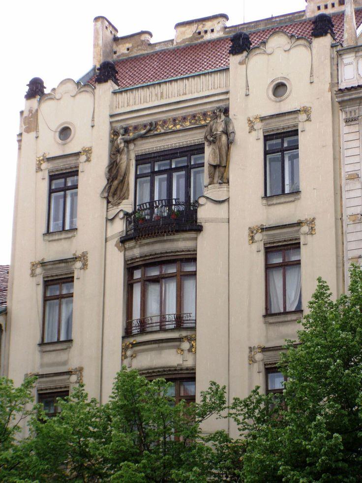 Peterka House, 1900 | Jan Kotěra | poetical modernism