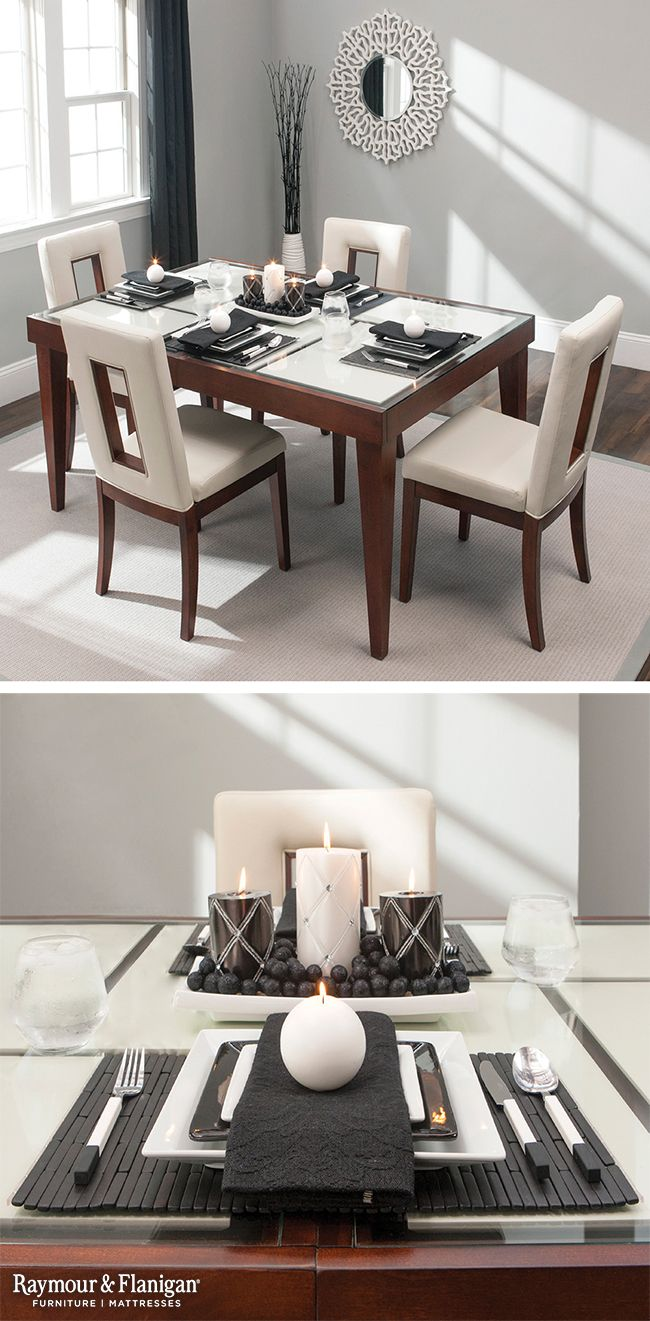 When Hosting A Holiday Meal Dont Just Set The Table Bring It Contemporary Dining RoomsA