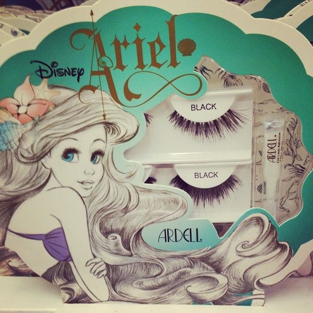 Have you seen these eyelashes at Walgreens yet? Check out today's blogpost to find out more about the Little Mermaid makeup collection http://settostunning.com/2014/06/25/ariel-makeup-up-elf-walgreens/collection #ariel #thelittlemermaid #makeup