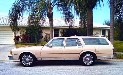 Chevrolet 1981 Caprice Classic Station Wagon. | Station Wagons, even the rats. | Station Wagon ...