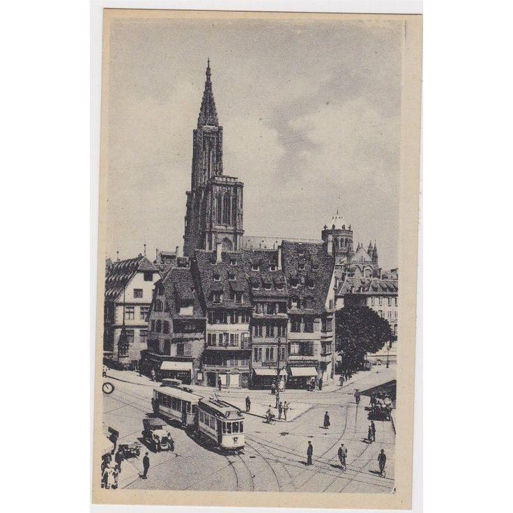 Carte postale ancienne, Strasbourg Rabenplatz, Place Corbeau en 2020 | Carte postale, Carte ...