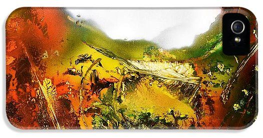 Golden Valley IPhone 5 / 5s Case Printed with Fine Art spray painting image Golden Valley by Nandor Molnar (When you visit the Shop, change the orientation, background color and image size as you wish)