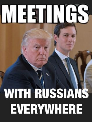 The question isn't if there was collusion but what is going to be done about it. Are we really going to allow a Russian subordinate to be in the White House?