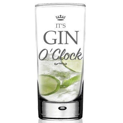Check this out!! The Kitchen Gift Company have some great deals on Kitchen Gadgets & Gifts Gin O'Clock Hi Ball G&T Glass #kitchengiftco