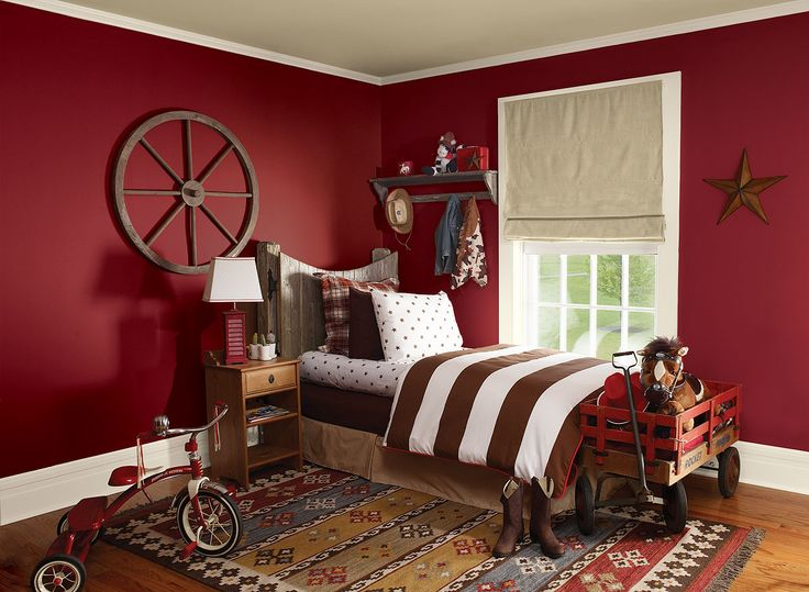 Red Colour Wall: 1000+ Ideas About Kids Bedroom Paint On Pinterest
