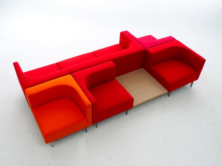 upholstered modular sofa side by side modular sofa. Black Bedroom Furniture Sets. Home Design Ideas