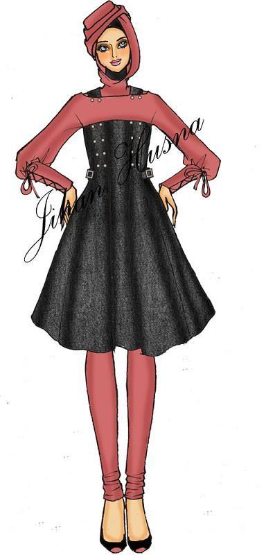 Desain Dress Casual
