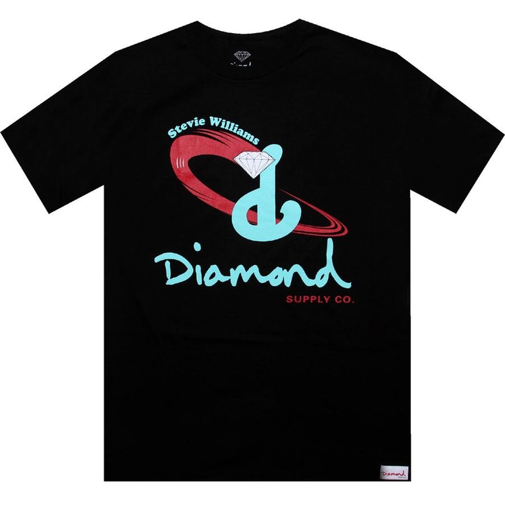 Diamond Supply Company Stevie Williams Signature Hardware Tshirt in black