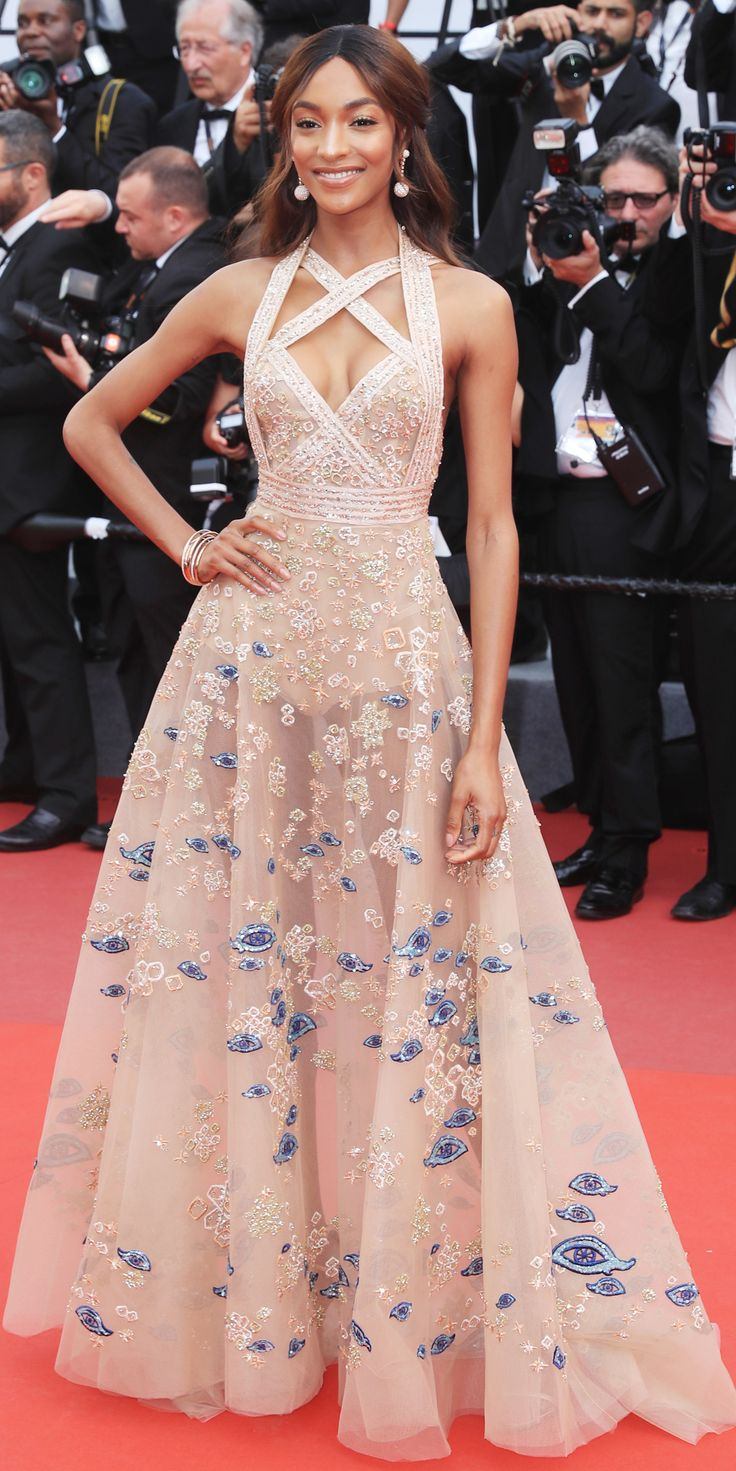 All the Celebrity Looks from the 2017 Cannes Film Festival Red Carpet - Jourdan Dunn from InStyle.com