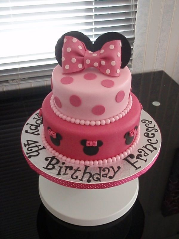 Best 25 Mini Mouse Cake Ideas On Pinterest Minnie Mouse