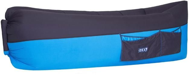 ENO Billow Air Lounge Inflatable Couch Royal/Charcoal