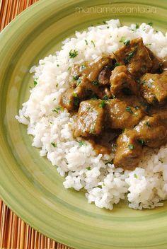 spezzatino al curry...un grande classico della cucina indiana :)