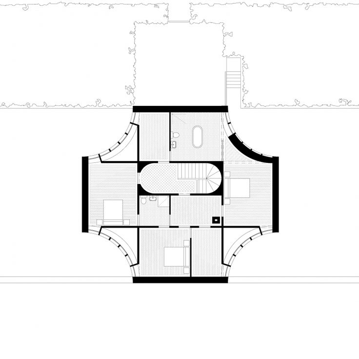 Clifden House - first floor - Galway - Ryan W. Kennihan Architects