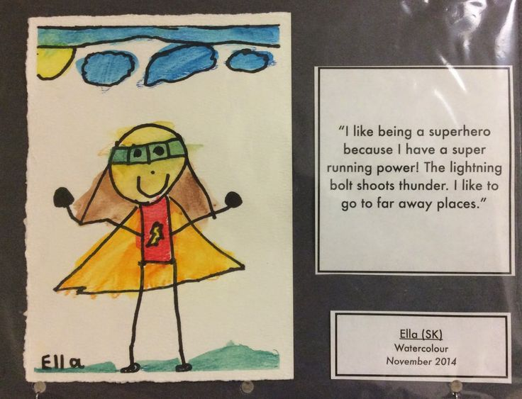 Our Kindergarten Journey: What is a Superhero? What makes a Superhero special?