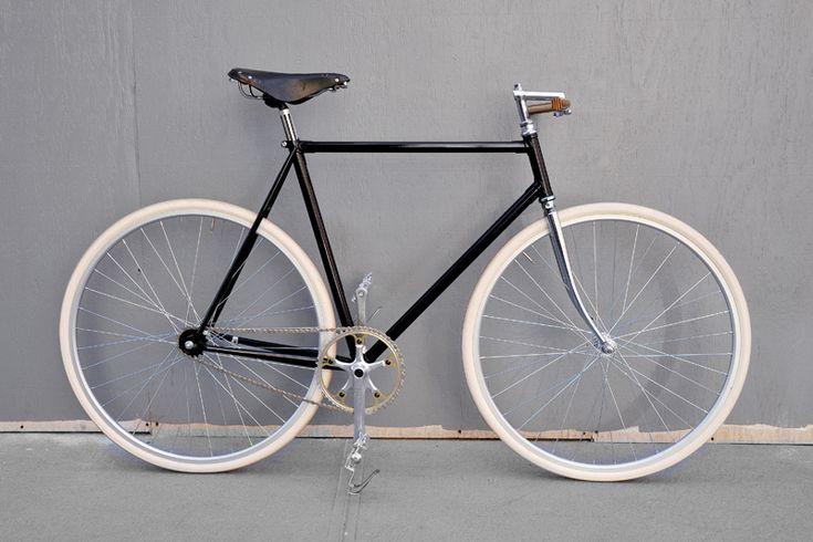 fixie: Bike, Fixed Gear, Fixie Bike, Retro Bikes, New York City, Bertelli Bicycles, Products, Black