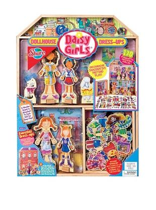 38% OFF T.S. Shure Daisy Girls Magnetic Wooden Doll House