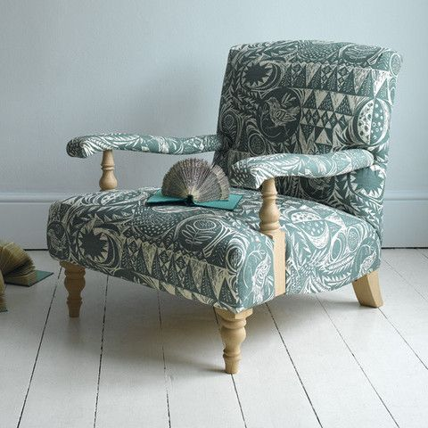 Mark Hearld's 'Bird Garden' fabric for St. Jude's