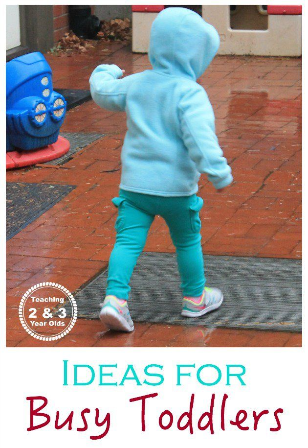 Ideas for Busy Toddlers - Teaching 2 and 3 Year Olds