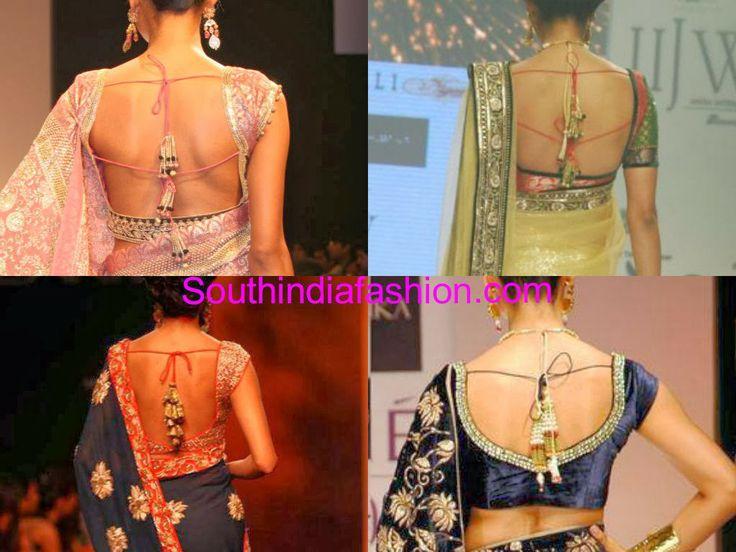 # blouse neck designs