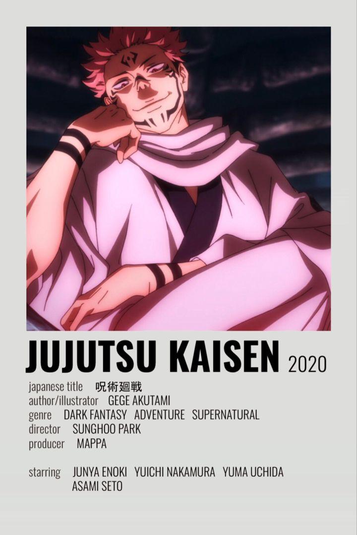 Jujutsu Kaisen In 2021 Anime Reccomendations Anime Films Anime Printables