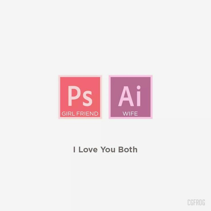 I Love You Both [Ps + Ai] 💞 #photoshop #illustrato #love #design #designer #cgfrog More at http://cgfrog.com
