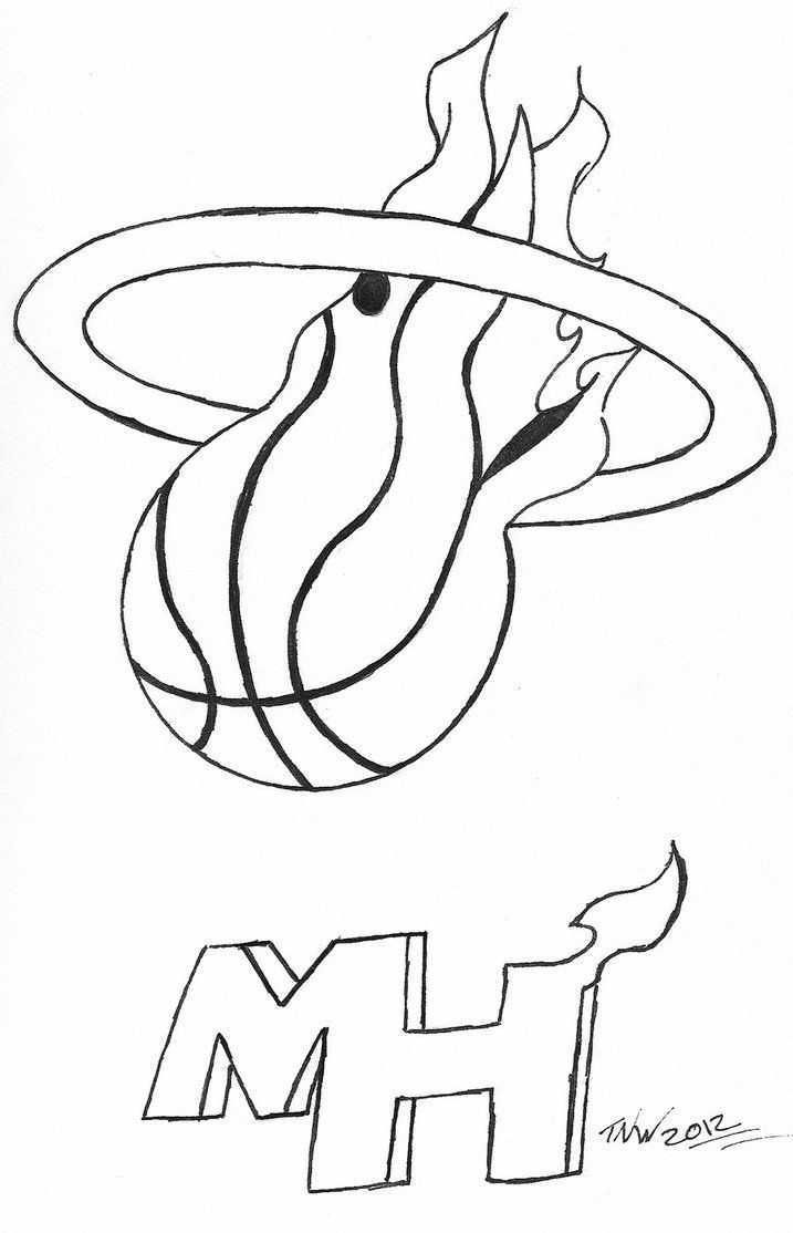 Hunger games coloring pages online - Miami Heat Coloring Pages Miami Heat Coloring Pages