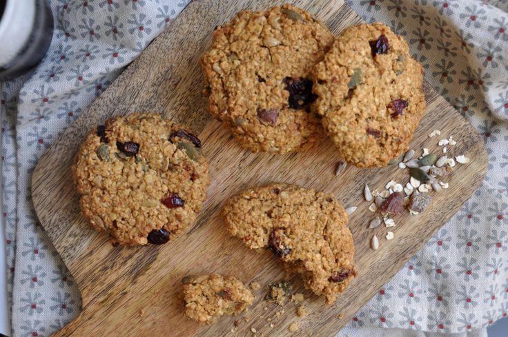 Oatmeal cookies » aux fruits secs