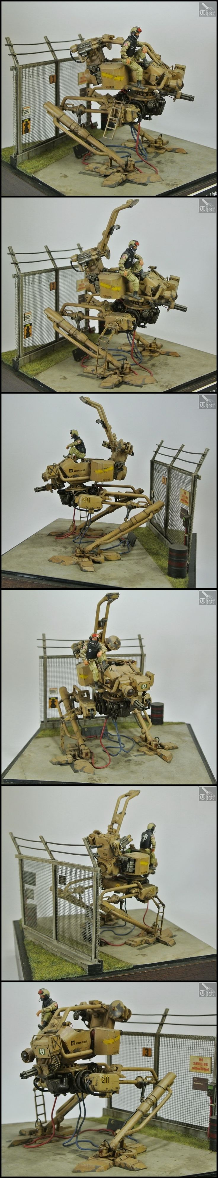 CoolMiniOrNot - AFR-921 Valiant Walker by Thor-Modelling