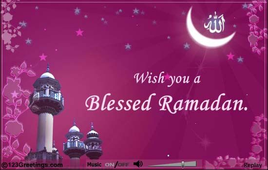 Wishing you a very Happy Ramadan Kareem