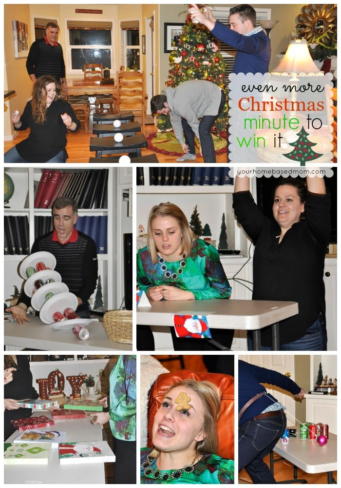Even More Christmas Minute to Win It Games