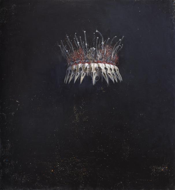 """eiruvsq: """" Artist: Agostino Arrivabene """"Etimasia Eleusina I"""" Oil on Linen 69 cm x 63 cm """""""