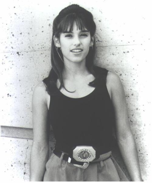Amy Jo Johnson + The Original Pink Ranger