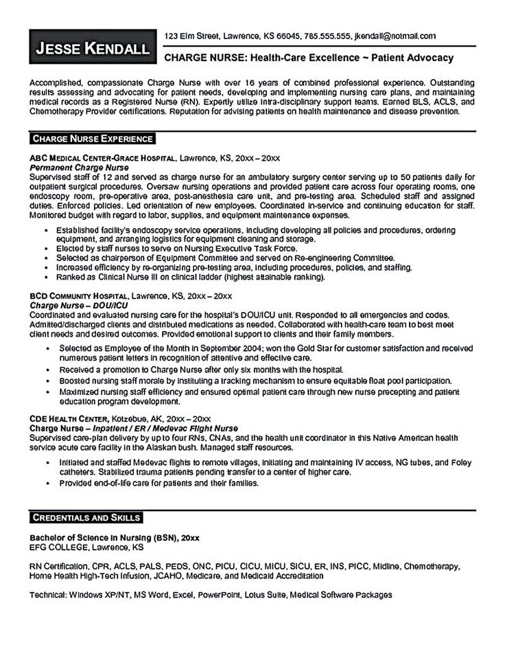 34 best resume time! images on Pinterest Nursing resume template - objective for rn resume