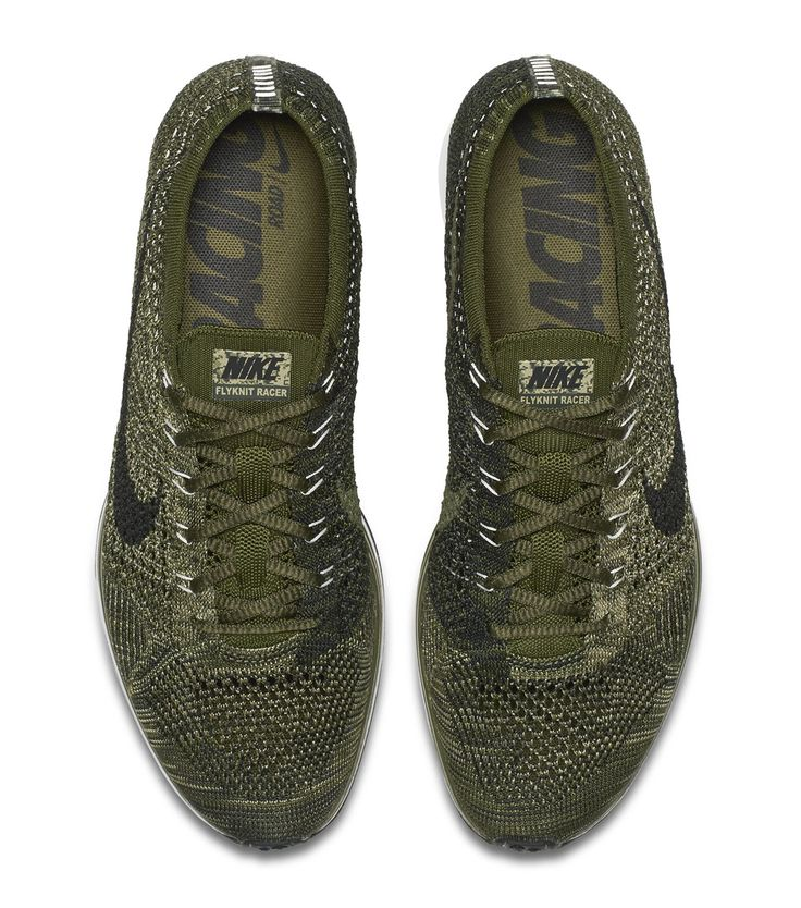 """Preview: Nike Flyknit Racer """"Rough Green"""""""