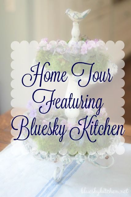 First Friday Home Tour featuring Bluesky Kitchen at Poofing the Pillows